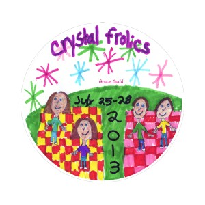 2013 Frolics 1st place button round